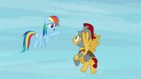 "Rainbow Dash ""where'd he go?"" S7E26"