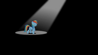 Rainbow Dash under the spotlight S2E07
