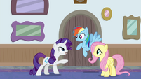 "Rarity ""what are you two doing here?"" BGES3"