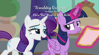"Rarity ""you're the Princess of Friendship"" S8E16"