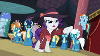 Rarity -the scene of the crime!- S5E15
