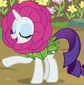 Rarity flower costume ID S7E6