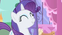 Rarity overjoyed S1E20