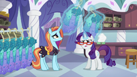 Rarity takes Princess Dresses away from Sassy S5E14