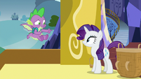 "Spike ""right, sounds great"" S9E19"