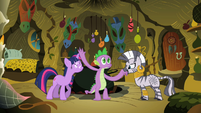 Spike slaps Twilight S2E10
