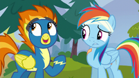 Spitfire --ever since you joined the Reserves!-- S6E7