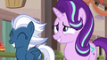 Starlight Glimmer and Night Glider smiling S6E26.png