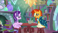Sunburst --you and I to be friends again-- S6E1