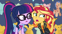 "Sunset Shimmer ""the old bump-and-tingle"" EGROF"