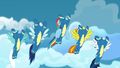 The Wonderbolts fly high into the sky S7E7.png