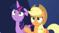 Twilight at stress level eight; AJ annoyed S9E1