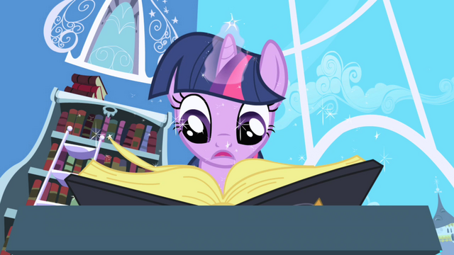 Файл:Twilight looking for Elements entry in book S1E01.png
