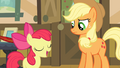 Apple Bloom 'I'm good at makin' things sound excitin' S4E09.png