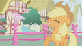 Applejack finally shows up for appointment with Rainbow Dash S1E04.png
