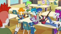 Canterlot High School rockers EG