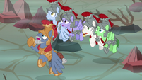 Commander Ironhead and Royal Legion assembled S7E16