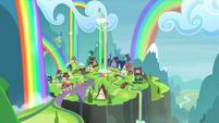 Friendship Express heading to Rainbow Falls S4E22