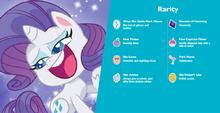MLP Pony Life Rarity Hasbro.com character bio