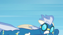 Male Wonderbolt flying solo S6E7