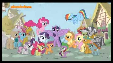 My Little Pony Friendship is Magic Theme song - Greek
