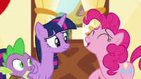 Pinkie --It was hilarious!-- S5E22