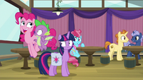 "Pinkie Pie ""excited for this game"" S9E16"