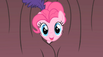 Pinkie Pie Curtain Peek S1E21