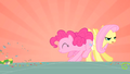 Pinkie Pie bumping Fluttershy S01E25.png
