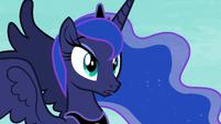 Princess Luna surprised by Celestia's words S7E10