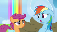 "Rainbow Dash ""I wasn't the best at everything"" S7E7"
