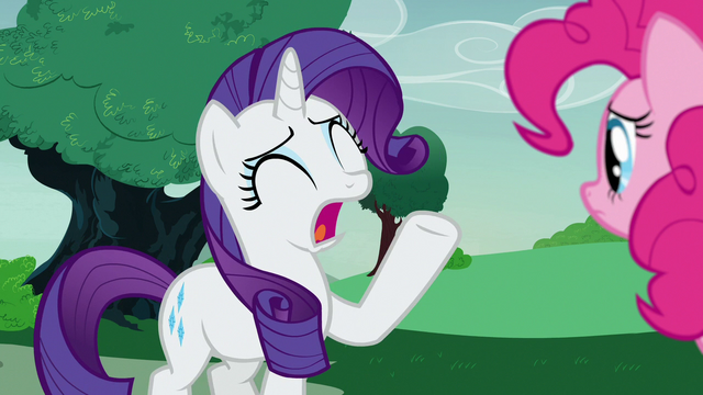 """File:Rarity """"the show is cancelled!"""" S7E9.png"""