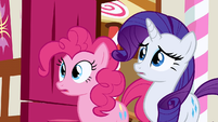 Rarity & Pinkie Pie uh oh! S2E19