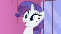 Rarity smiling S1E20