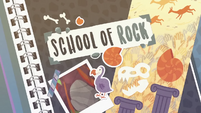 School of Rock title card EGDS1