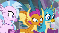 "Smolder ""you two are friends again?"" S8E17"