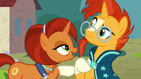 "Stellar Flare ""use your words, Sunburst"" S8E8"