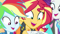 Sunset Shimmer -we won Best Friends!- EGFF