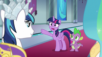 "Twilight Sparkle ""you're wearing it?!"" S9E4"
