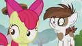 Apple Bloom and Pipsqueak hears Silver Spoon S5E18.png