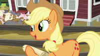 "Applejack ""I should go over it with you"" S6E10"