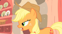 "Applejack ""familiar with that one"" S1E08"
