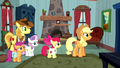 """Applejack """"with some outlaw on the loose"""" S5E6.png"""