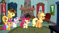 "Applejack ""with some outlaw on the loose"" S5E6"