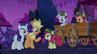 Applejack --for your first go-'round-- S6E15