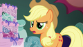Applejack surprised to find two friendship problems S6E20.png
