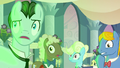Background ponies gasping S2E26.png