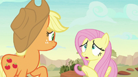 "Fluttershy ""they know something we don't"" S8E23"