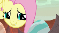 "Fluttershy ""waiting to say hello"" S9E9"