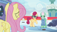 Fluttershy --speaking up for yourself can be hard-- S6E11